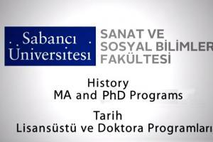Sabanci University History MA and PHD Programs | FASS History